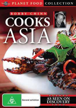 Bobby Chinn Cooks Asia on DVD