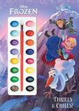 Frozen: Thrills & Chills - Deluxe Paint Box Book by Courtney Carbone