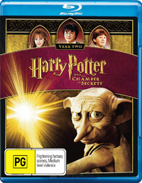 Harry Potter and the Chamber of Secrets on Blu-ray image