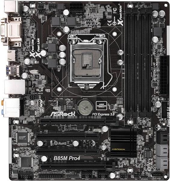 ASRock B85M Pro4/ASM Intel LAN Windows
