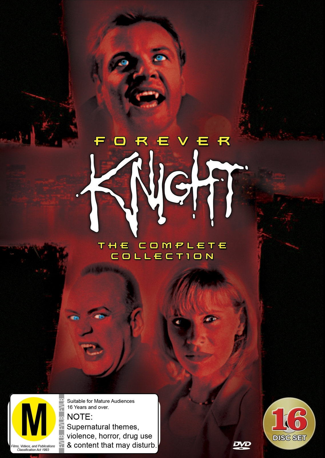 Forever Knight - The Complete Collection (16 Disc Set) on DVD image