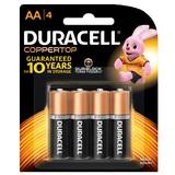 Duracell Coppertop AA 4pk