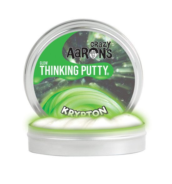 Crazy Aarons Thinking Putty: Krypton - Mini Tin