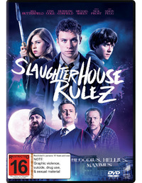 Slaughterhouse Rulez on DVD