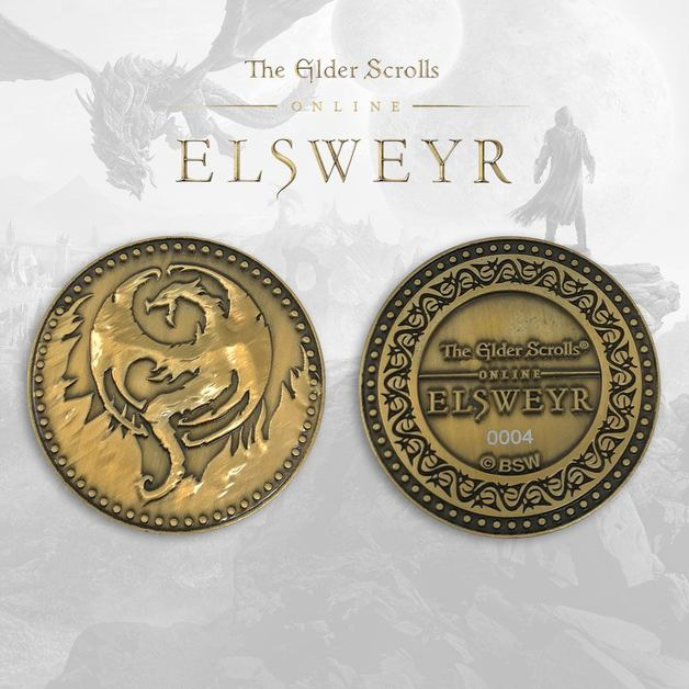 Elder Scrolls Skyrim: Collectable Coin - Elsweyr