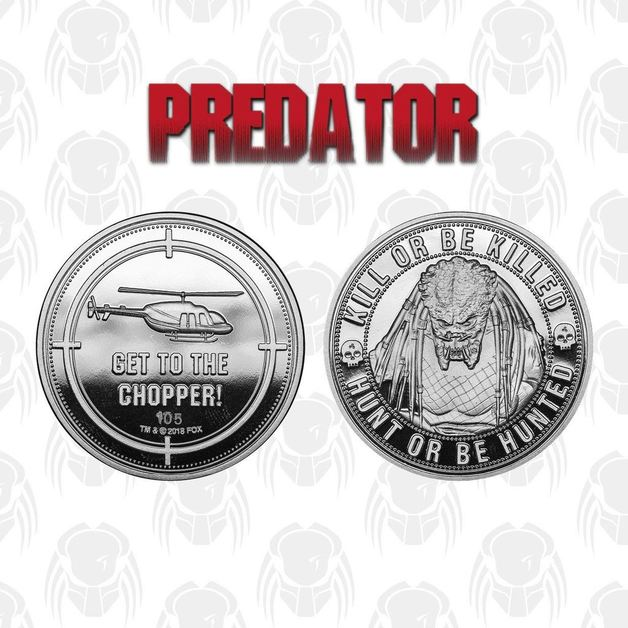 Predator: Collectable Coin - Get to the Chopper