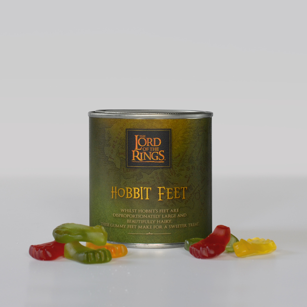 Lord of the Rings Hobbit Feet 180g