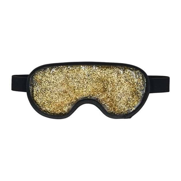 Annabel Trends: Gel Glitter Eye Mask - Gold