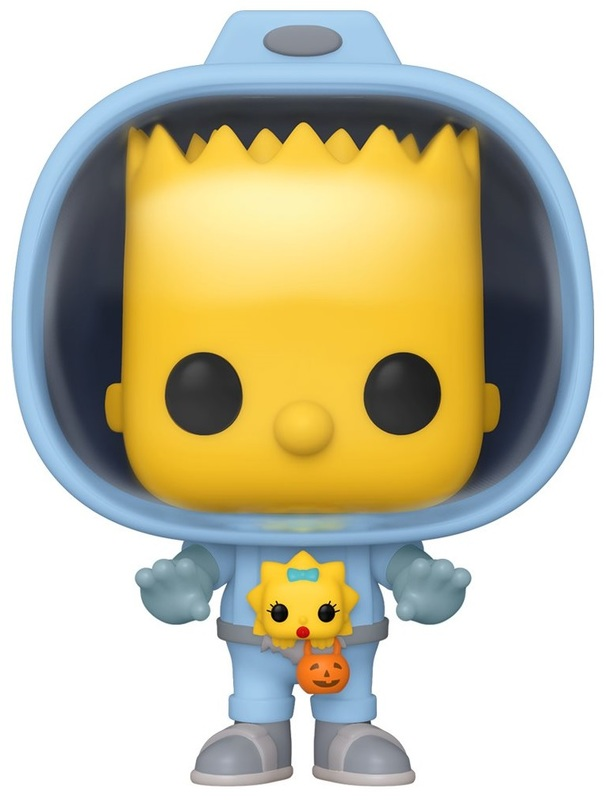 The Simpsons: Bart w/Chestburster Maggie - Pop! Vinyl Figure
