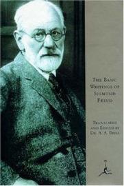 Basic Writings of Sigmund Freud by Sigmund Freud