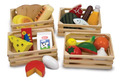 Melissa & Doug: Food Groups Set Wooden