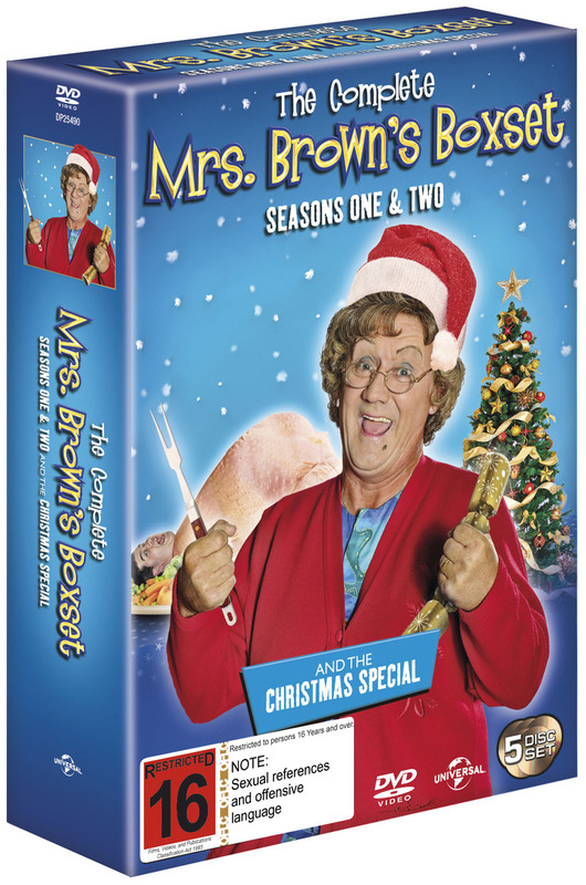 The Complete Mrs. Brown's Boxset - Seasons One & Two and the Christmas Special on DVD