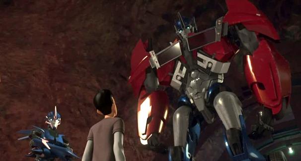 Transformers Prime: Volume 1 - Darkness Rising on DVD image