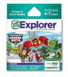 LeapFrog Explorer Game Cartridge - Transformers Rescue Bots Race to the Rescue