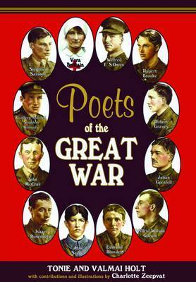 Poets of the Great War by Tonie Holt image