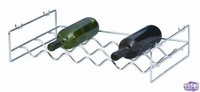 L.T. Williams - 6 Bottle Large Chrome Wine Rack