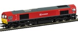 Hornby: Co-Co Diesel 'DP World London Gateway' '66185' Class 66