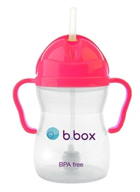 B.Box: Sippy Cup - Neon Pink Pomegranate