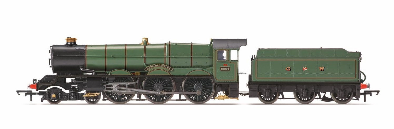 Hornby: The Final Day Collection - GWR 4-6-0 'King George III' 6000 King Class image