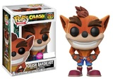 Crash Bandicoot (Flocked) - Pop! Vinyl Figure