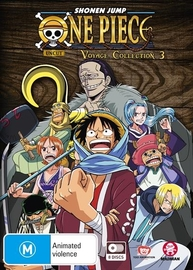 One Piece - Voyage Collection 3 (Episodes 104-156) on DVD