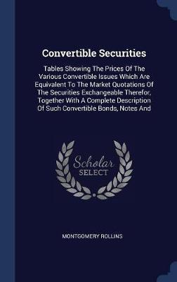 Convertible Securities by Montgomery Rollins