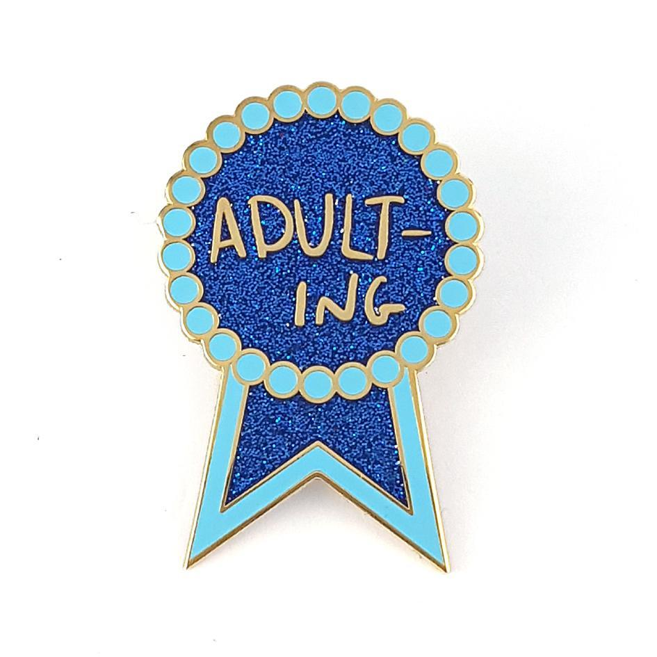 Jubly-Umph Adulting Lapel Pin image