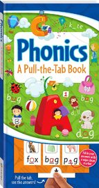 Pull-the-Tab Board Book: Phonics by Hinkler Books Hinkler Books