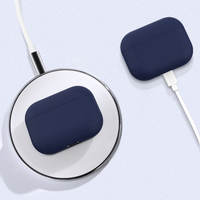 Airpods Pro Silicone Slim Light Protective Cover - Blue
