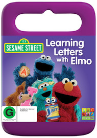 Sesame Street - Learning Letters with Elmo on DVD