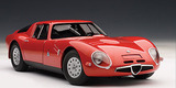 AUTOart Alfa Romeo TZ2 1:18 Diecast Model - Red
