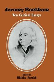 Jeremy Bentham by B.C. Parekh