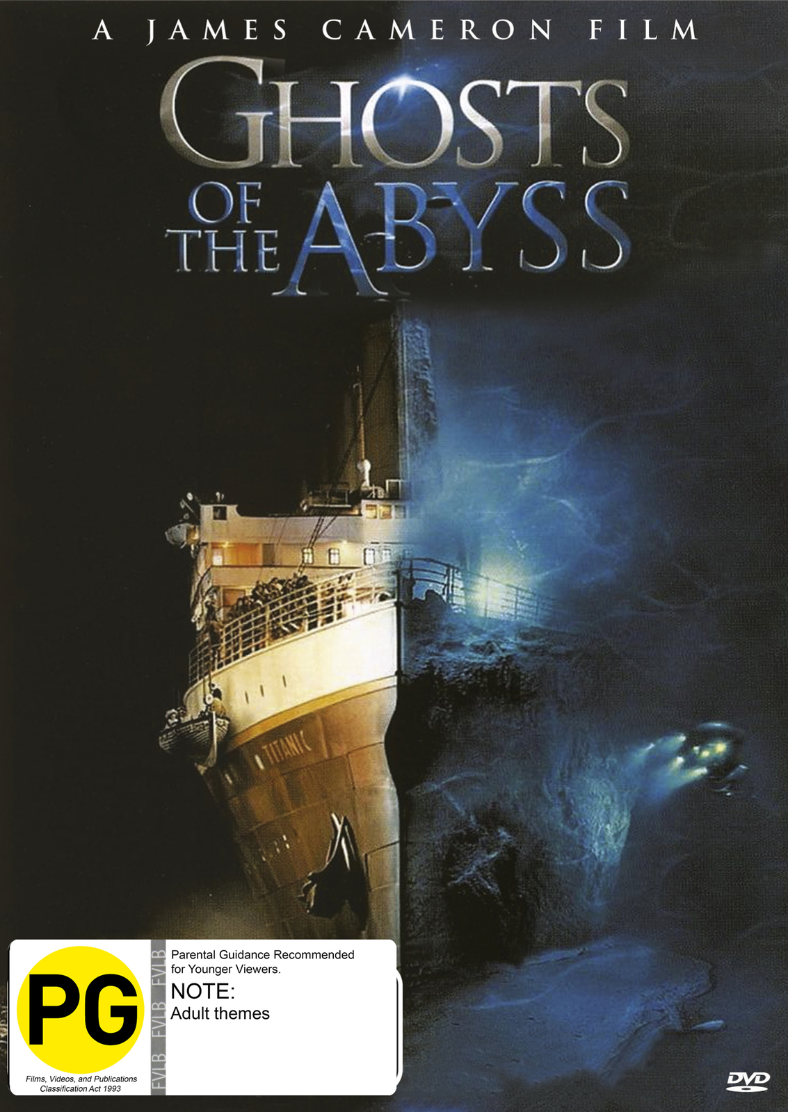 Ghosts Of The Abyss on DVD image