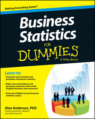 Business Statistics For Dummies by Alan Anderson image