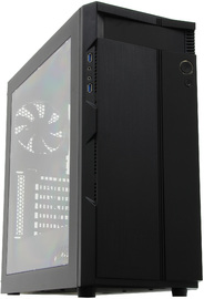 Silverstone Precision Series PS14 Gaming Chassis - Black/Windowed