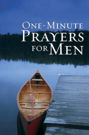 One-Minute Prayers for Men Gift Edition by Harvest House Publishers image