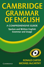 Cambridge Grammar of English: A Comprehensive Guide by Ronald Carter image