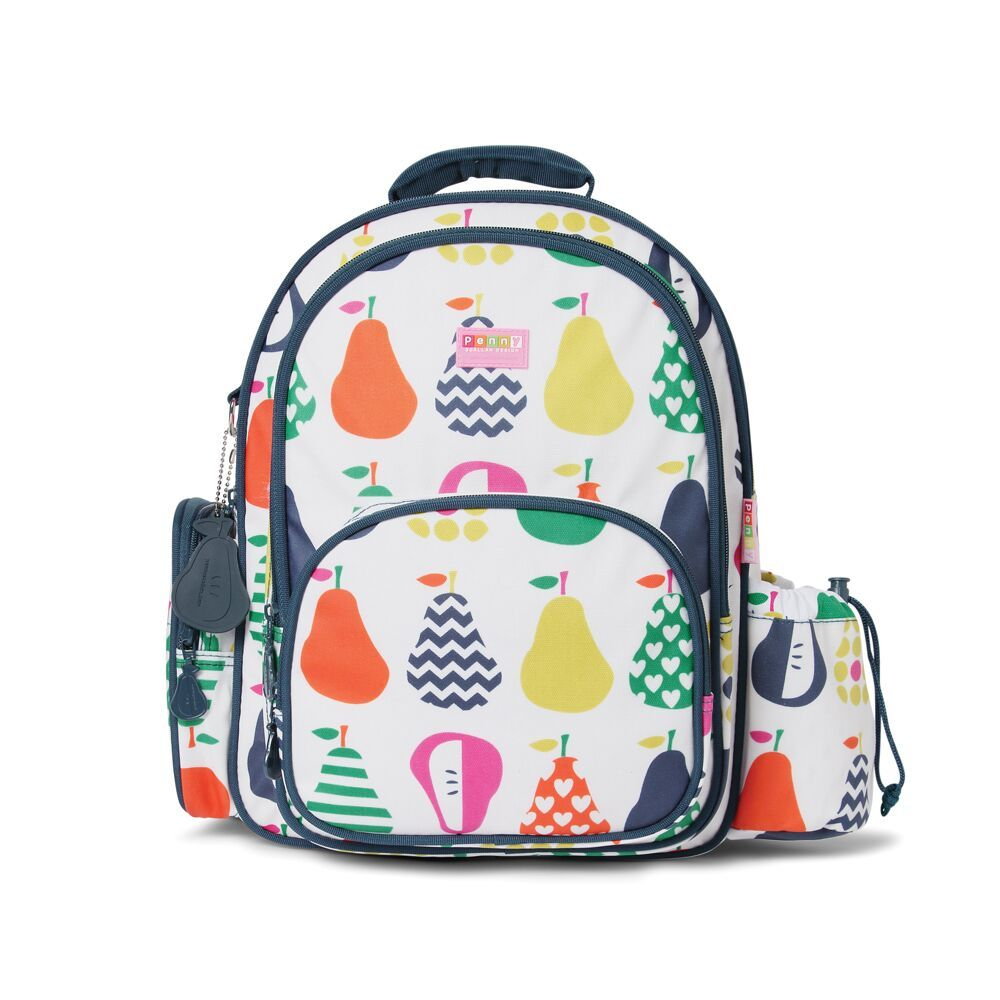 Pear Salad Large Backpack image