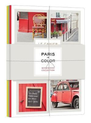 Paris in Color Notebook Collection (Set 3) by Nichole Robertson