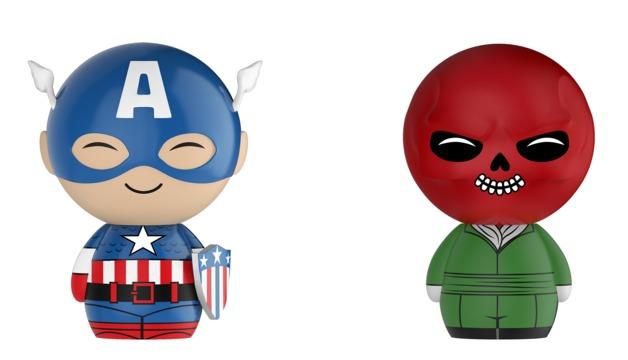 Marvel: Cap & Red Skull - Dorbz Vinyl 2-Pack