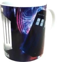 Doctor Who: Mug - TARDIS & Insignia Logo