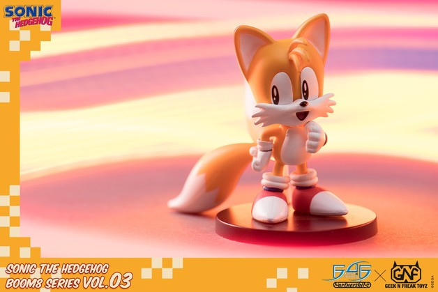 "Sonic the Hedgehog: Tails - 3"" Boom8 Figure"