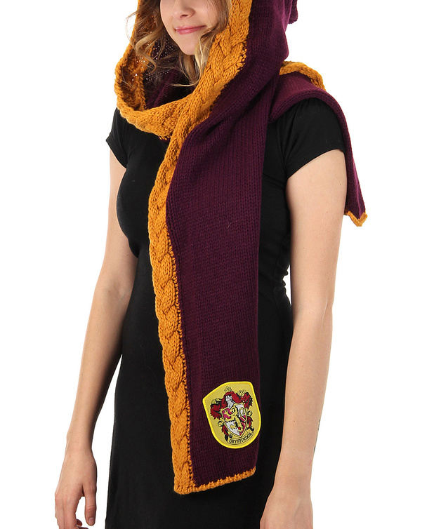 Harry Potter - Gryffindor Knit Hood
