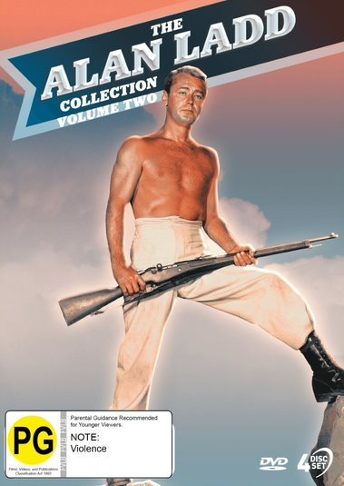 The Alan Ladd Collection: Volume Two on DVD