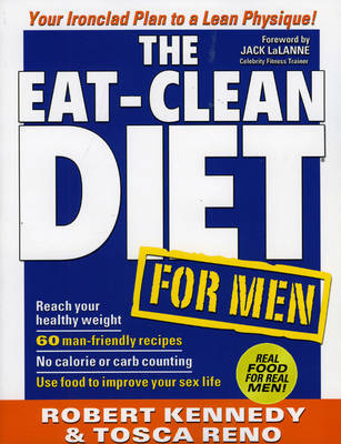 Eat-clean Diet for Men by Robert Kennedy image