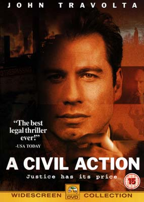 Civil Action, A on DVD image