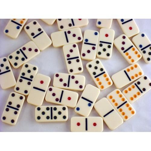 Double 6 Mini Dominoes