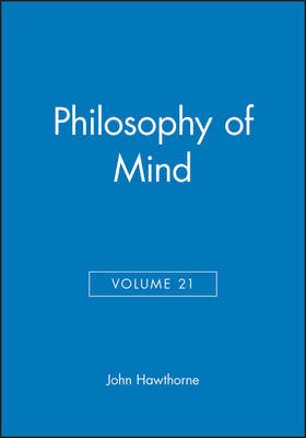 Philosophy of Mind, Volume 21 image