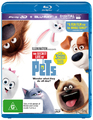 The Secret Life Of Pets on Blu-ray, 3D Blu-ray