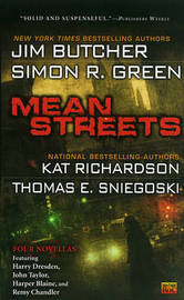 Mean Streets by Jim Butcher image